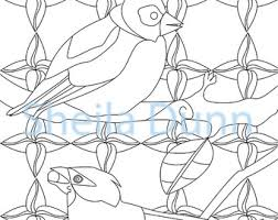 Two Birds Coloring Page For Adults