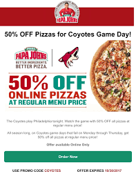 Papa John's Has Officially Given Up On The … - Reddit Papa Johns Coupons Shopping Deals Promo Codes January Free Coupon Generator Youtube March 2017 Great Of Henry County By Rob Simmons Issuu Dominos Sales Slow As Delivery Makes Ordering Other Food Free Pizza When You Spend 20 Always Current And Up To Date With The Jeffrey Bunch On Twitter Need Dinner For Game Help Farmington Home New Ph Pizza Chains Offer Promos World Day Inquirer 2019 All Know Before Go Get An Xl 2topping 10 Using Promo Johns Coupon 50 Off 2018 Gaia Freebies Links