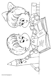 Boy And Girl Reading A Book Colouring Page To Download It Just Click The Pdf Button Underneath Screen Shot If You Dont Have Adobe PDF