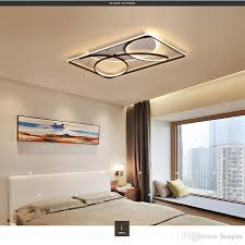 großhandel led deckenleuchte ideen einfache moderne esszimmer wohnzimmer schlafzimmer deckenleuchte acryl rc dimmbare innenbeleuchtung led