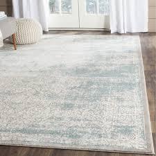 teppich damarcus in türkis elfenbein teppich esszimmer
