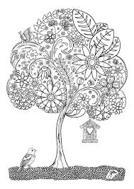 Adult Coloring Colouring Pages For Adults Books Zen Anti Stress Mandala Fleurdoodles Maike