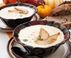 cuisiner des panais marmiton velouté de topinambours et panais recette de velouté de