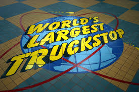 Take A Tour Of The World's Biggest Truck Stop