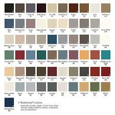 FLEXCO 61 Product Colors