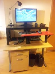 Stand Up Desk Conversion Kit Ikea by Stand Up Desk Conversion Ikea Best Home Furniture Decoration
