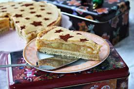 winterliche apfel punsch torte mit eierlikör guss