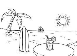 Best 25 Beach Coloring Pages Ideas On Pinterest Summer For