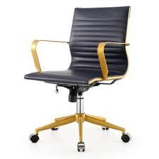 modern blue desk chairs allmodern