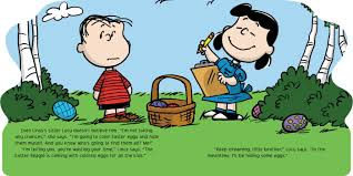 Linus Great Pumpkin Image by Meet The Easter Beagle Book By Charles M Schulz Vicki Scott