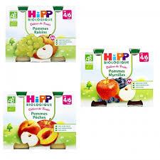 delices de fruits petits pots des 4 a 6 mois 2x190g