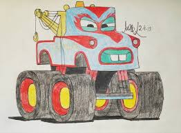 The_mean_mister_mustard - Isaac's Art And Other Stuff - Suggested By ... I Loved My First Monster Truck Rally Disney Cars 155 Custom Mater In 2018 Harrys Stuff Coloring Pages Open Paul Conrad Characters From Toon Pixarplanetfr Tow Cartoon Wwwtopsimagescom Lightning Mcqueen Vs Trucks For Page For Kids Transportation Fun Welcome On Buy N Large Frightening From Disney Pixar Cars Toon Walmart Mentors Biggest Fan Monster Truck