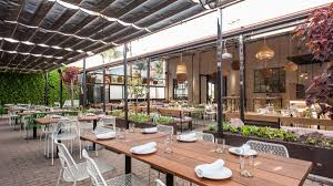 California-Inspired Design Takes Over Restaurant Dining ... Waterfall Fniture Wikipedia A Modern And Organic Ding Room Makeover Emily Henderson Dom Round Ding Table In Hardened Glass Steel Paul 7 Ways To Refresh The Look Of An Existing Oldboringnot Rattan 1970s Throwback Thats Hottest How Restore 1950s Chrome Kitchen Table Chairs Home Fding Value Vintage Mersman Fniture Thriftyfun Pine Nd Four Chairs Which Have Material Seat Covers Blairgowrie Perth Kinross Gumtree Chair 60s 70s Stunning Retro G Plan Fresco Range Extending Round And 4 Decoration Designs Guide Best Guides