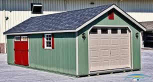 1 Car Prefab Garage e Car Garage