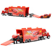 Disney Pixar Cars 2 Toys 2pcs Lightning McQueen City Construction ... Disney Cars Dkv46 Mack Playset Amazoncouk Toys Games Pixar Truck Hauler Lightning Mcqueen Carry Case 2 Mcqueen With Images Dinoco The Transportation With Mega Bloks 7769 155 Custom Monster Paulmartstore 3 2pcsset Uncle Tv Dvd In Newcastle Tyne And Wear Gumtree Cars Model Mack Car Lightning Mcqueen Haulers More Mernational Championship Trucks Mc
