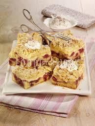 kirsch pudding blech blechkuchen backen rezeptfoto