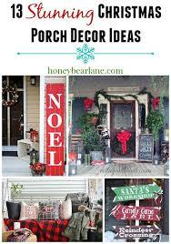 Outdoor Christmas Decorating Ideas Front Porch by 13 Stunning Christmas Porch Decor Ideas Christmas Porch Porch