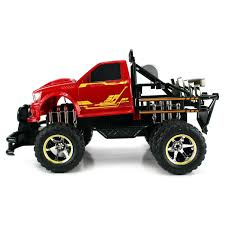 100 Rc Dually Truck Shop Velocity Toys Jungle Fire TG4 Electric RC Monster
