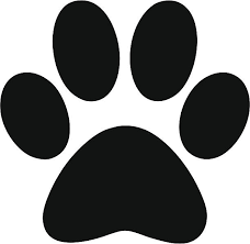 Royalty Free Paw Print Clip Art Vector & Illustrations