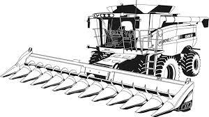 Coloriage Tracteur Claas Dessins Coloriage Desssin A Imprimer