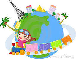 Travel The World Clipart