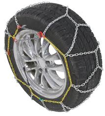 Titan Chain Alloy Snow Tire Chains - Diamond Pattern - Square Link ...