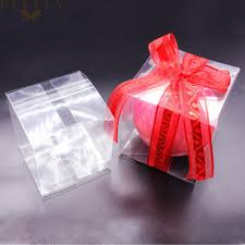 Jewelry PVC Clear Transparent Box Gifts Birthday Wedding Favor