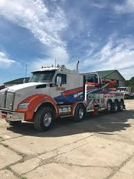 Pine Tree Towing And Recovery, Cambridge OH - Kenworth T880 Twin ...