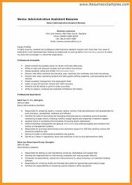 resumes administrative assistant sles professional executive