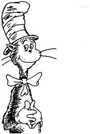Adult Dr Seuss Coloring Pages Cat In The Hat With
