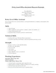 Entry Level Marketing Resume Objective Example No Experience Sample For Dental Assistant With