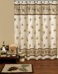 Small Bathroom Window Curtains Amazon by Amazon Com Saturday Knight Ltd Pinehaven Shower Curtain Home