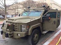100 Swat Team Truck FBI Tactical Response Teams Ready For Inauguration Day