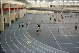 Pulastic Flooring College University Running Track Field House