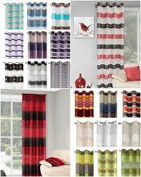 vorhänge gardine streifen wohnzimmer kräuselband ösen