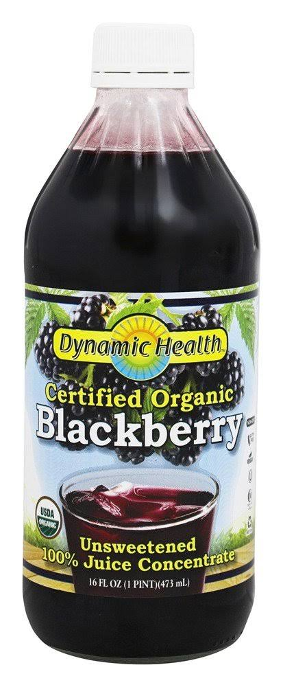 Blackberry Juice Concentrate Dynamic Health - 16oz