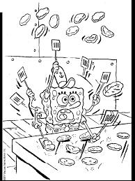 Spongebob Coloring Pages 4