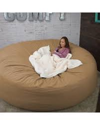 Bean Bag Bed 8 Foot Xtreem Oversized Chair In Micro Suede Pitch