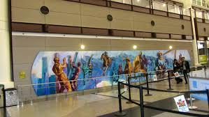 Denver International Airport Murals by Zeb The Duck Goes To Denver International Airport U2013 Colorado
