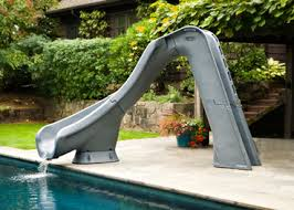 Typhoon Swimming Pool Slide
