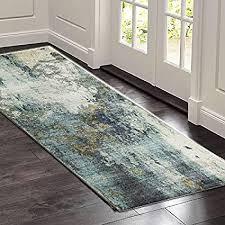 sostudio teppich läufer flur küchenläufer waschbare rutschfest grau geometrische muster badteppich flurläufer teppich flur läufer meterware für innen