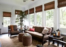 Image Of Sunroom Blinds Ideas Roll Up