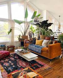 eclectic living room design ideas boho chic