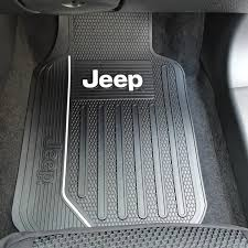 Jeep Commander Floor Mats Oem by Jeep Elite Front U0026 Rear Rubber Floor Mats For Trucks Suvs Ebay
