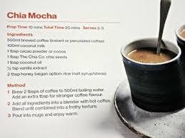 Chia Mocha Recipe