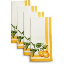 Lemon Napkins Set Of Four