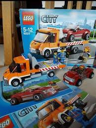 100 Lego City Tow Truck Flatbed And Vehicle In Hucknall