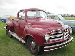 100 1955 Studebaker Truck Studebaker Truck Red Tire Black Grass