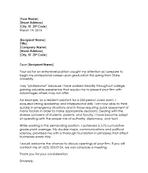 Cover Letter Examples For Students In College] 83 images