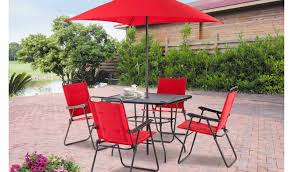 Walmart Outdoor Patio Chair Cushions by Patio U0026 Pergola Excellent Mesmerizing Red Umbrella Standing On